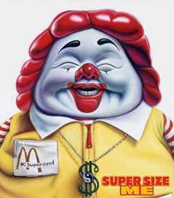 fast food nation vs super size We decided to look back at the film super size me and its premise, and to compare that to the nutritional state of the fast food industry today  including books like fast food nation, released .
